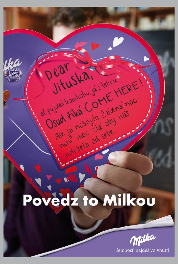 Klíčový vizuál pro CLV na slovenský trh, foto: Milka