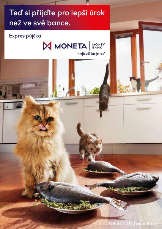 Nový vizuál Moneta Money Bank