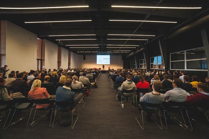 Konferenční sál byl zaplněn, foto: Ecommerce Expo
