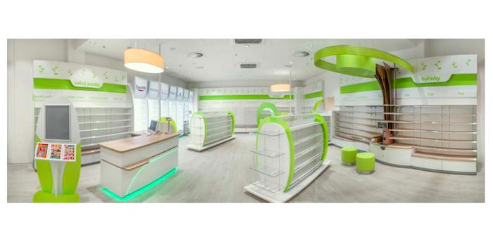 Vizualizace nového konceptu Teta lékárny od Moris Design, zdroj: POPAI