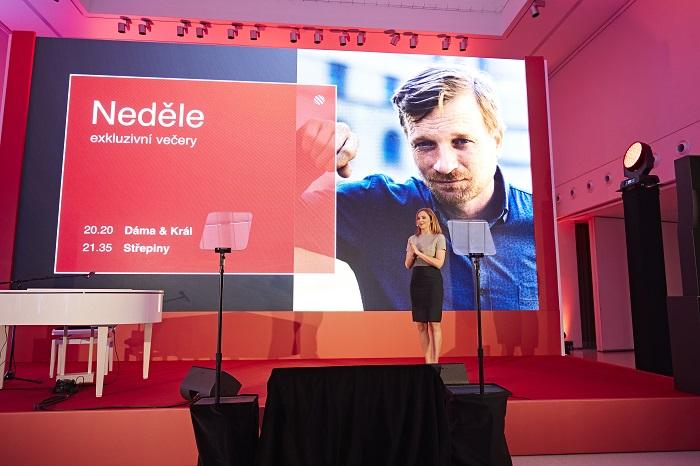 Programové schéma představila ředitelka programu Alex Ruzek, foto: TV Nova