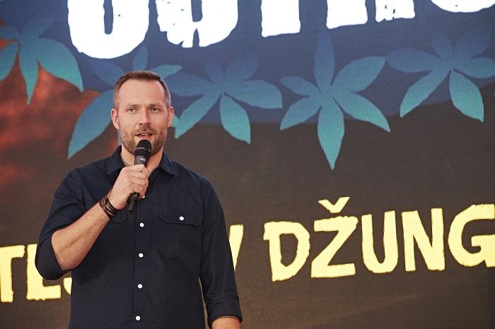Moderátor reality show Robinsonův ostrov Ondřej Novotný.