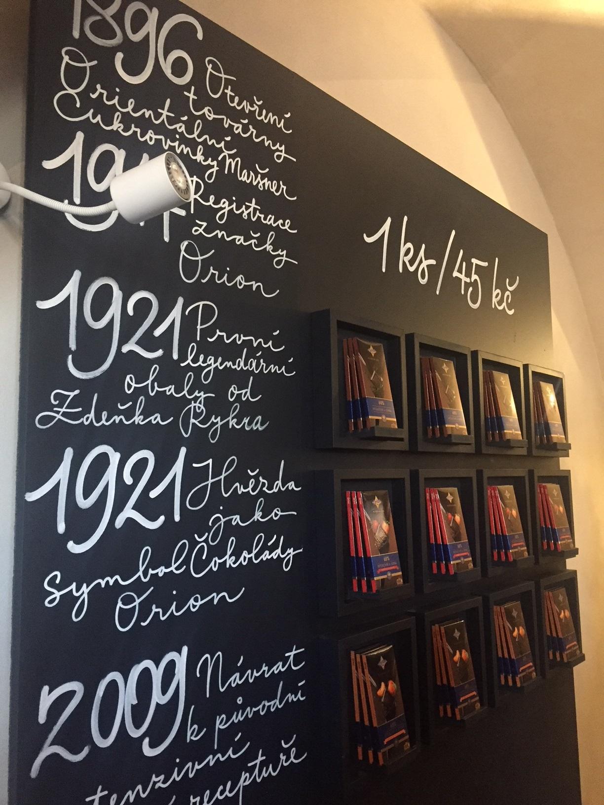 Prezentace Mistrovské edice hořkých čokolád se 68 % kakaa značky Orion v rámci Čokoládového ateliéru, foto: MediaGuru.cz