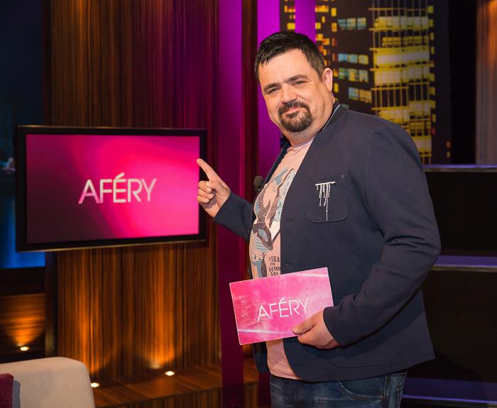 Pavel Novotný se stal novým moderátorem pořadu Aféry na TV Barrandov, foto: TV Barrandov