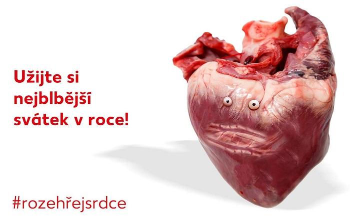 """Vizuál """"valentýnské"""" kampaně obchodního řetězce Kaufland, zdroj: Kaufland"""