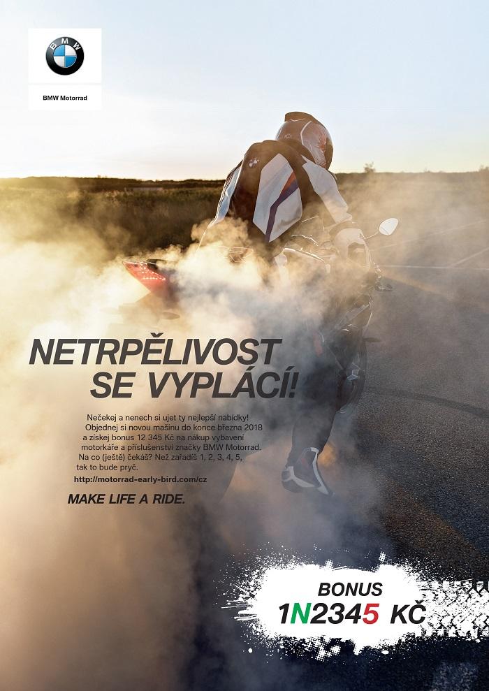 Klíčový vizuál k nové kampani značky BMW Motorrad, zdroj: BMW Motorrad