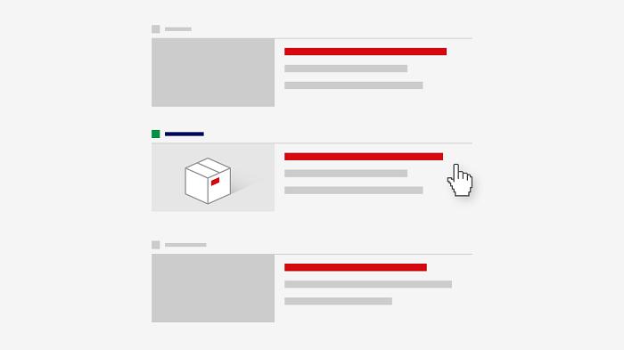 Obrázkový formát doplněný o texty, foto: Sklik