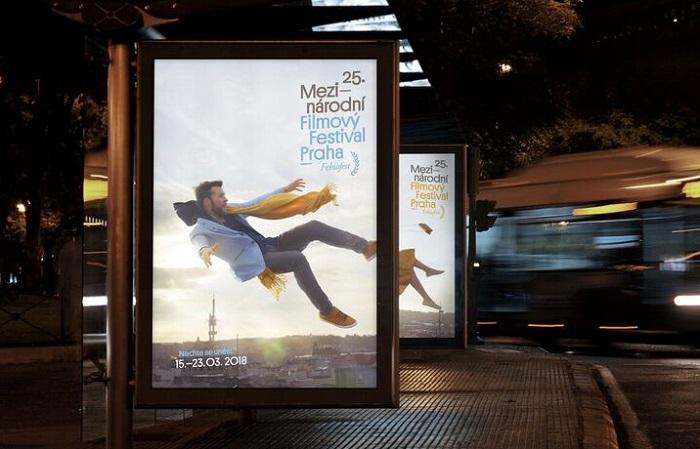 Vizuální identita Mezinárodního filmového festivalu Praha - Febiofestu, foto: Touch
