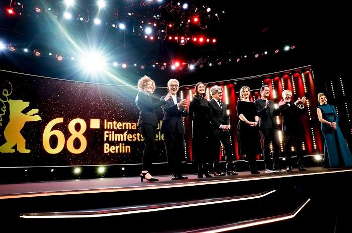 Zahájení 68. ročníku filmového festivalu Berlinale, foto: Berlinale