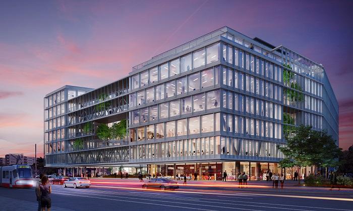 Vizualizace budovy, v níž bude sídlit první česká provozovna Business Link, zdroj: Business Link.