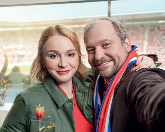 Marie Doležalová a Marek Taclík se stali tvářemi nového konceptu ČSOB, foto: ČSOB