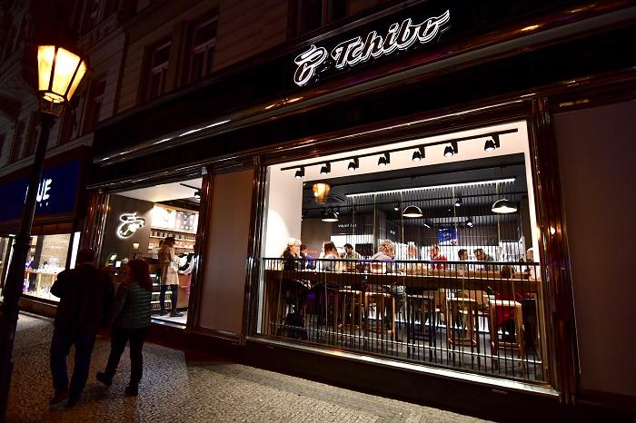 Prodejna Tchibo v Havelské ulici, foto: Tchibo