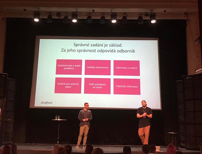 Matez Jindra a Honza Páv ze společnosti Lovebrand na konferenci Brandstorming, foto: MediaGuru.cz