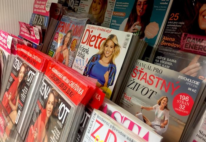Časopisům o zdraví, bydlení či televizním vzrostla čtenost