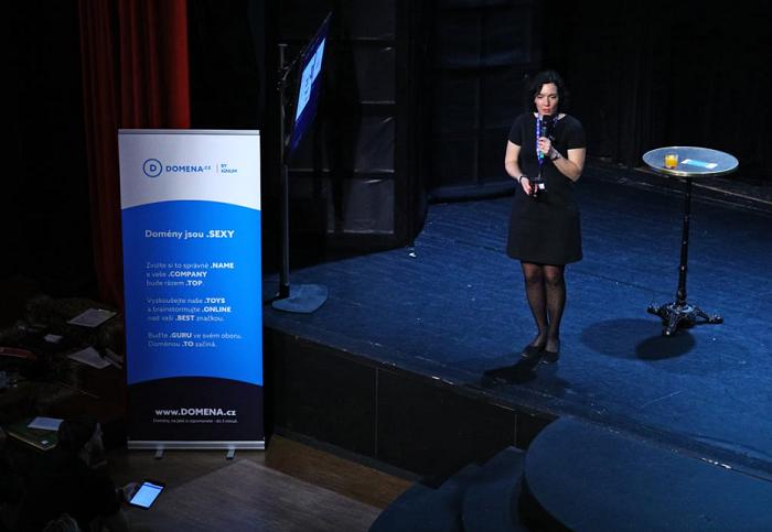 Magdalena Langerová na konferenci Brandstorming, foto: Internet Info