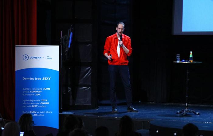 Jan Schmid na konferenci Brandstorming, foto: Internet Info