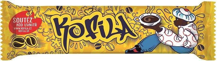 Kofila street-artová, zdroj: Nestlé