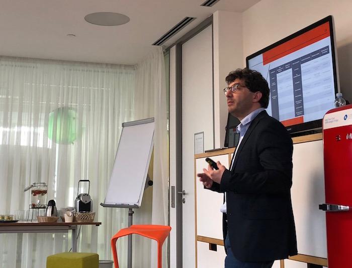 Ředitel Inovačního fondu DNI Ludovic Blecher, foto: MediaGuru.cz