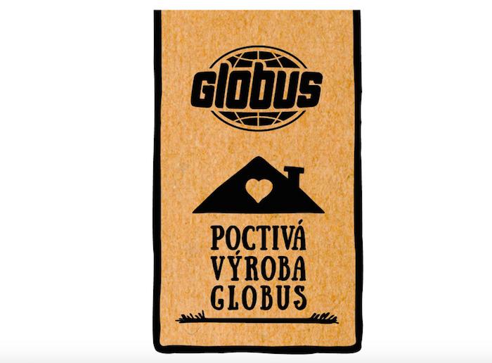 Logo nove značky Poctivá výroba Globus