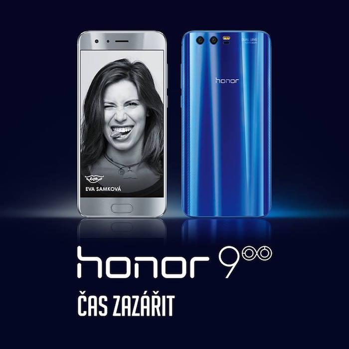 Tváří značky Honor je Eva Samková od roku 2015, foto: FB Honor.
