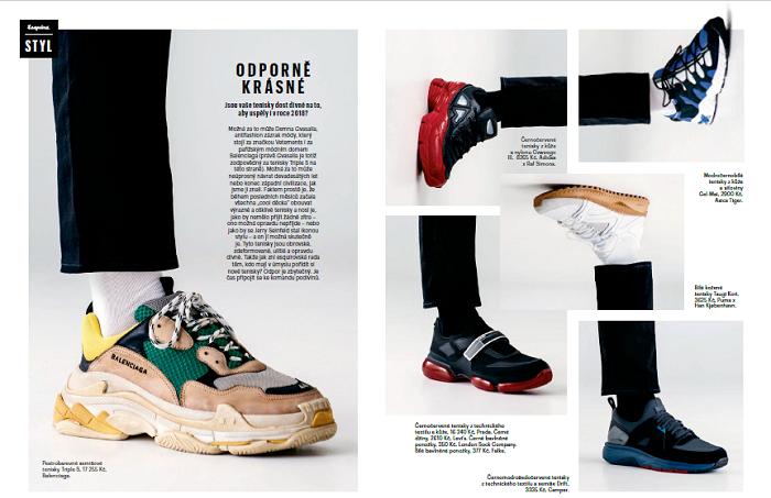Nová podoba časopisu Esquire, foto: Bauer Media Praha