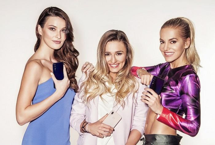 Nikol Švanterová, Tatiana Žideková a Dara Rolins jsou novými tvářemi značky Huawei, foto: Huawei.
