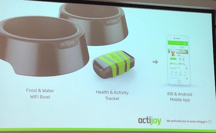 Česká firma Actijoy vyvíjí chytrý tracker a misku k monitorování aktivity psů, zdroj: Actijoy