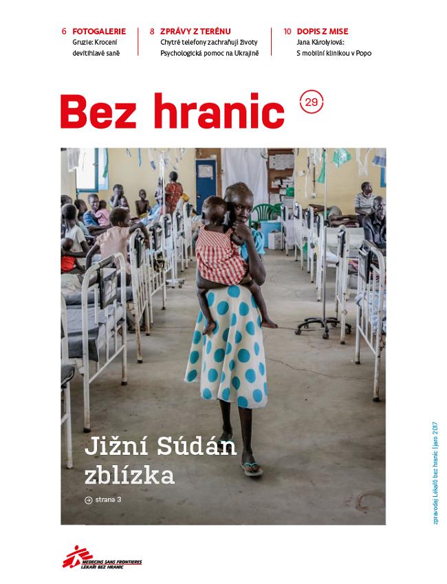"""Zlato v kategorii """"Nejlepší časopis a noviny neziskového sektoru"""" bylo uděleno humanitární organizaci Lékaři bez hranic."""