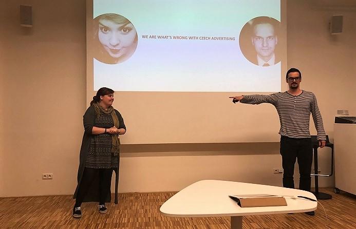 Eva Došková a Ondřej Peša, foto: MediaGuru.cz