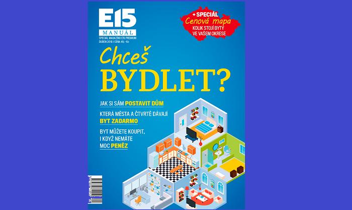 Titulní strana manuálu E15