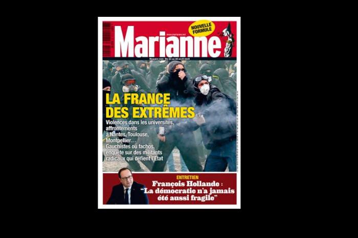 Francouzský týdeník Marianne