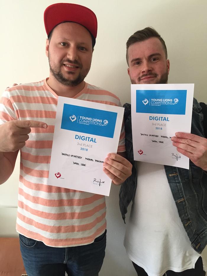 3. místo – Dmitrii Ufimtsev a Michal Vokoun z Dark Side, foto: Lionhearted