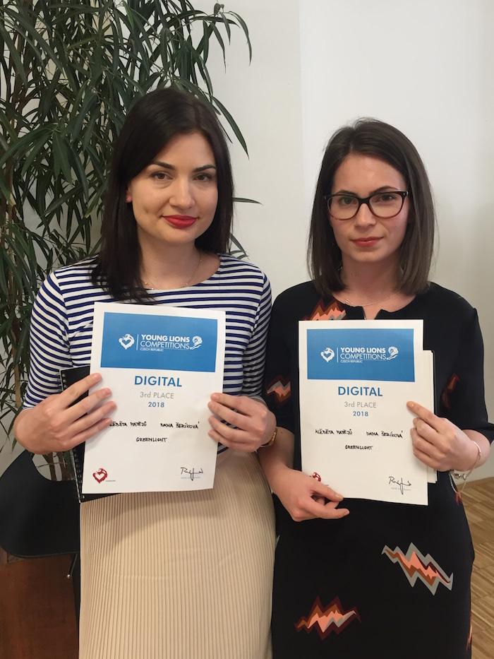3. místo – Alžběta Matějů a Ivana Šeríková z Greenlight, foto: Lionhearted
