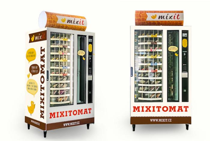 První mixitomat bude umístěn v pražské centrále společnosti Seznam.cz, foto: Mixit.