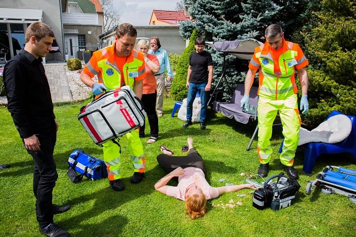 Záchranáři, foto: TV Barrandov