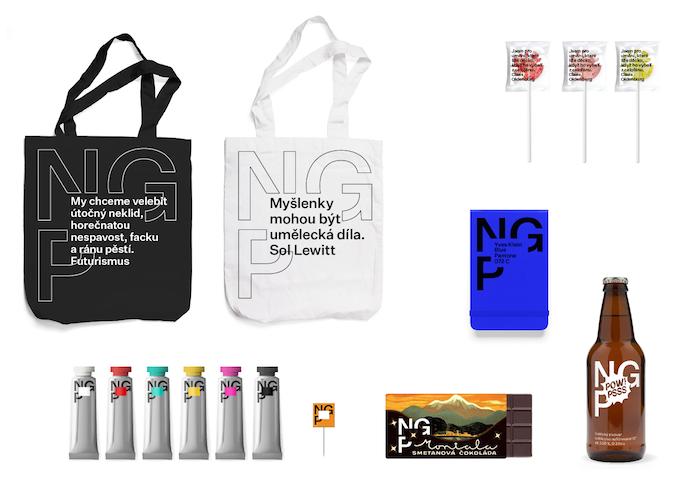 Nápady na merchandising od Studia Najbrt