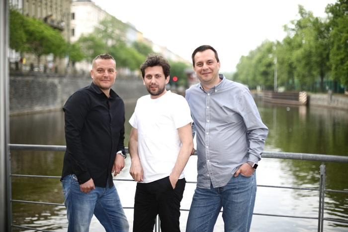 Vedení Stream.cz, zleva: Filip Vážanský, Daniel Strejc, Igor Kalaš, foto: Seznam.cz