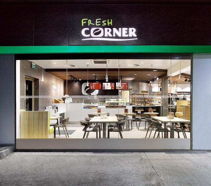 Fresh Corner na čerpací stanici MOL, zdroj: MOL