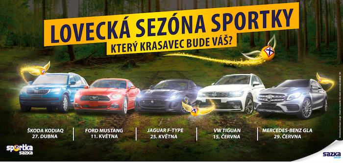 Klíčový vizuál kampaně Lovecká sezóna, zdroj: Sazka