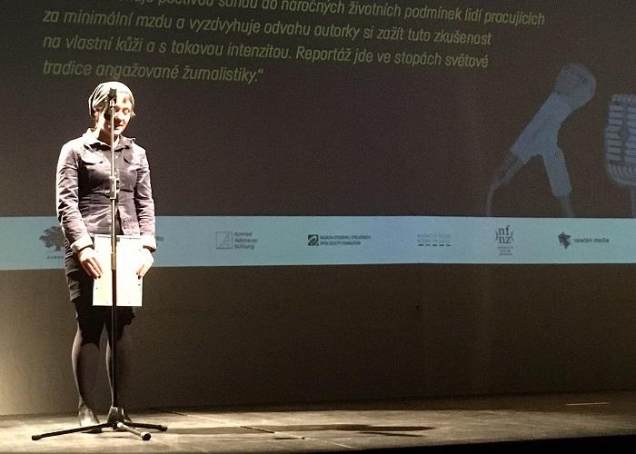 Saša Uhlová, foto: archiv Nadace OSF