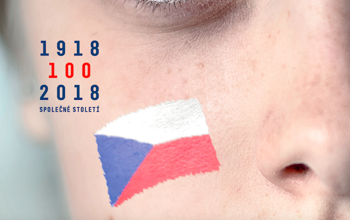 Klíčový vizuál kampaně k oslavě 100 let od založení Československa, zdroj: CzechTourism