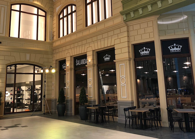 Občerstvení nabízí například restaurace Šalanda pivní značky Krušovice, foto: MediaGuru.cz.