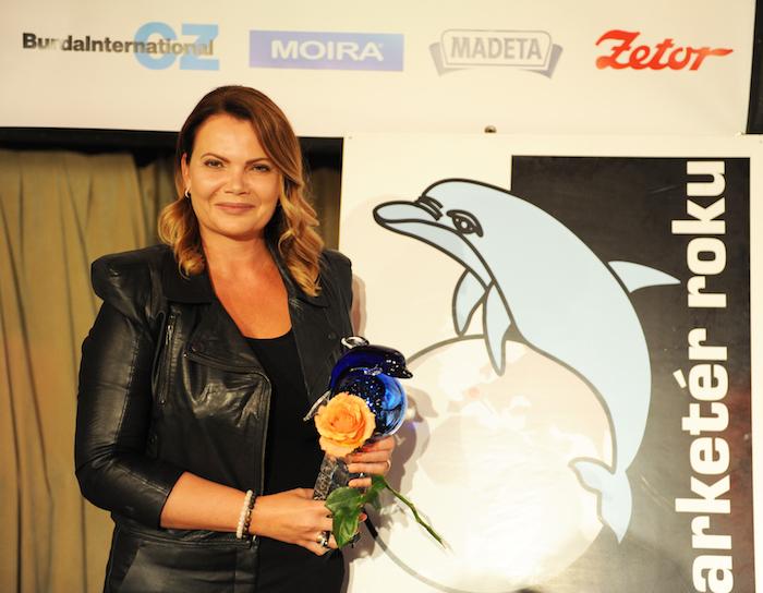 Karolína Topolová se stala Marketérem roku 2017, foto: ČMS