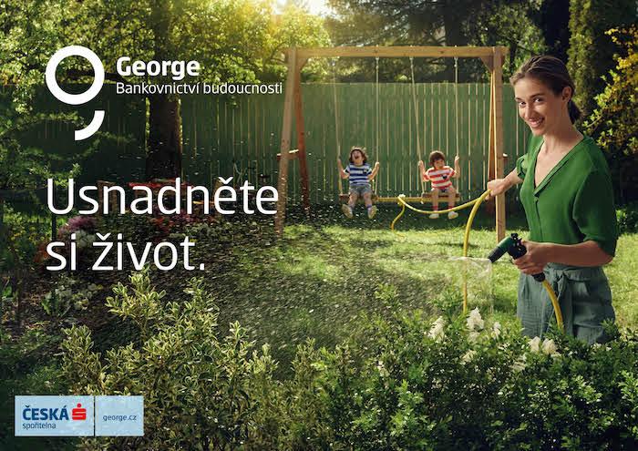 Internetové bankovnictví George používá v ČR 750 tisíc lidí měsíčně, zdroj: Česká spořitelna