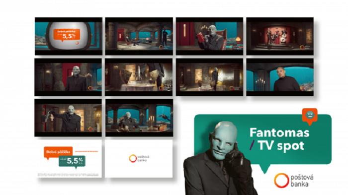 TV Fantomas, Poštová banka