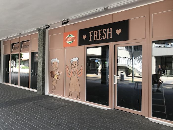Letos v květnu bude Globus Fresh v Parbubicích na sídlišti Dubina už třetí rok, Zdroj: Globus