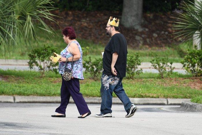 Teta a bratranec Meghan Markle, nově vévodkyně ze Sussexu, strávili královskou svatbu v Burger Kingu, zdroj: DailyMail.com.