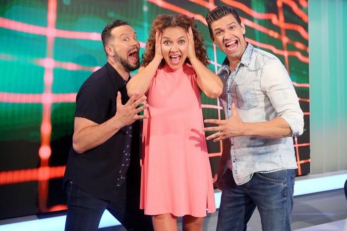 Michal Kavalčík, Andrea Košťálová, Petr Vojnar, foto: FTV Prima