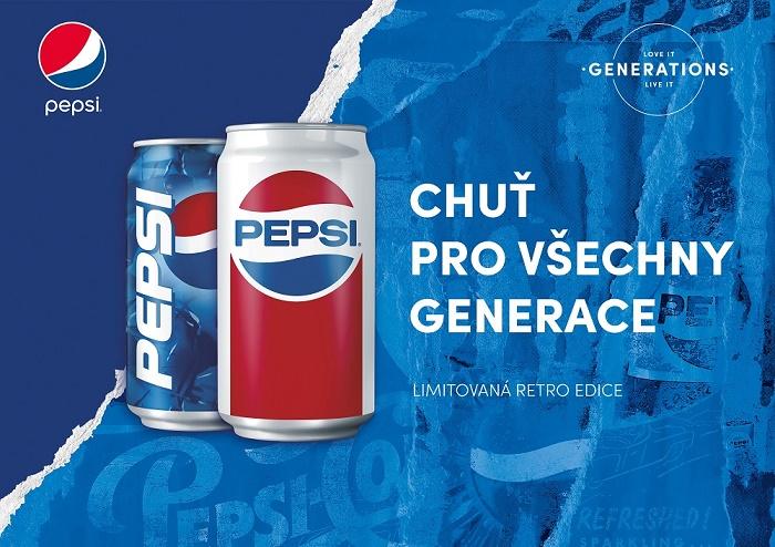 Klíčový vizuál letní kampaně značky Pepsi, zdroj: PepsiCo