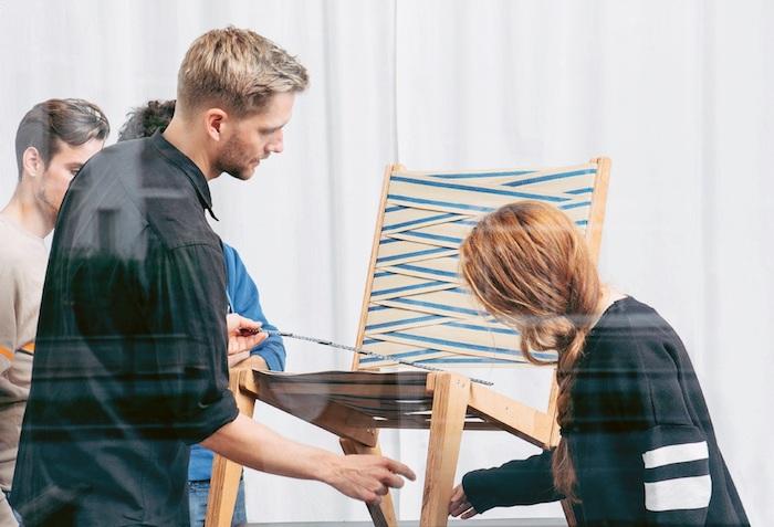 Hornbach se spojil s designérem Sigurdem Larsenem při návrhu křeslo, foto: Hornbach.
